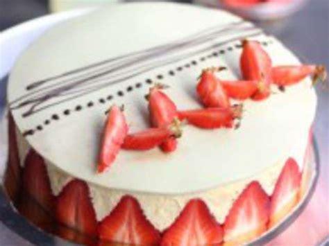 recettes de fraisier de la cuisine de mes racines
