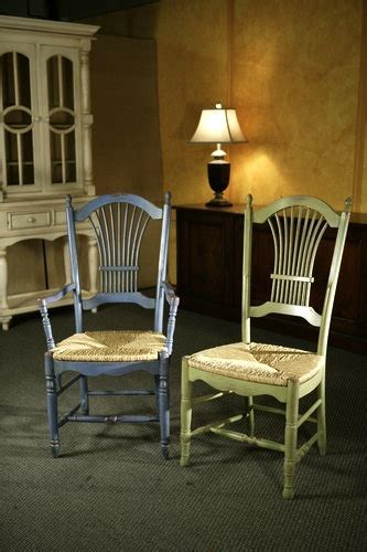 Coastal Fan Back Chairs Hand Made and Customized by