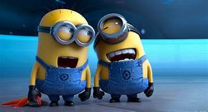 The cartoon Minions two of minions are laughing wallpapers ...