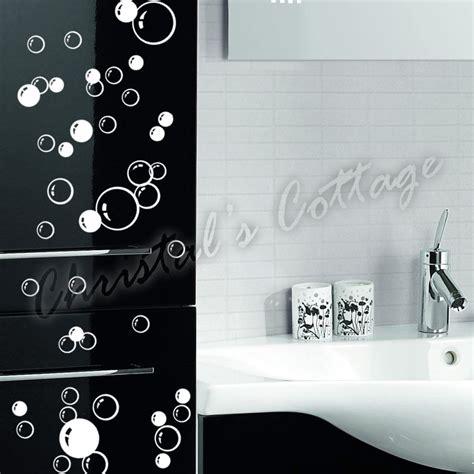 autocollant salle de bain autocollant mural salle de bain 88 bulles fen 234 tre