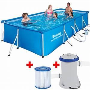 Pool Rechteckig Stahl : pool schwimmbecken stahlrahmen rechteckig 400x211x81 swimmingpool schwimmbad ebay ~ Markanthonyermac.com Haus und Dekorationen