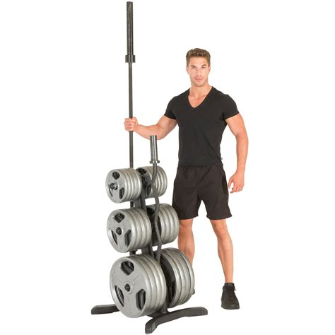 amazoncom fitness reality olympic weight treeplate