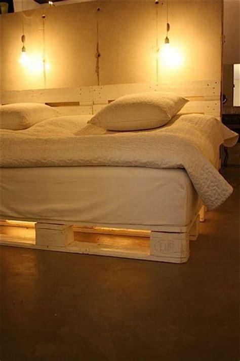 amazing diy pallet bed frame  headboard pallets platform