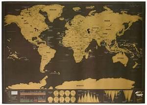 Carte Du Monde à Gratter Maison Du Monde : carte du monde gratter version luxe science nature le dindon ~ Teatrodelosmanantiales.com Idées de Décoration