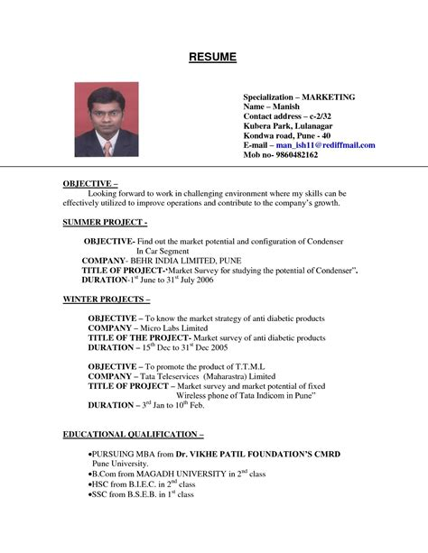 College Student Resume Exles by Exles Of Resumes Sle Resume For College Student
