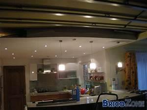 Spot Plafond Cuisine : faux plafond spots ~ Melissatoandfro.com Idées de Décoration