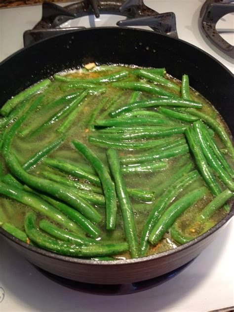 ways to cook green beans the most delicious way to cook green beans with chicken broth olive oil garlic butter i