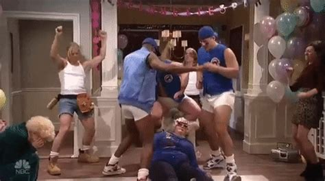 dance party snl gif  saturday night  find share