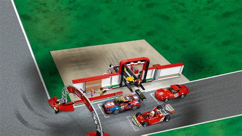 These are the instructions for building the lego speed champions ferrari ultimate garage that was released in 2018. LEGO Speed Champions 75889, Ferrari Ultimate Garage - Hjem - Lekia.no