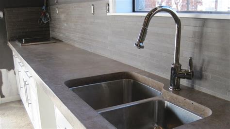 cost of concrete countertops how much do concrete countertops cost angie s list