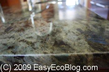 Installing Granite Countertops, Green, Low Voc Adhesive