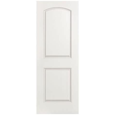 home depot 2 panel interior doors masonite 28 in x 80 in smooth 2 panel top