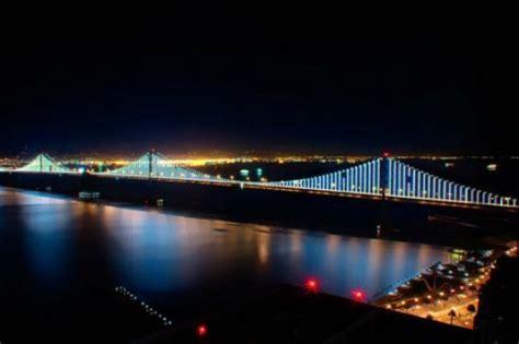 bay bridge lights the bay bridge gets its glow on innovation smithsonian