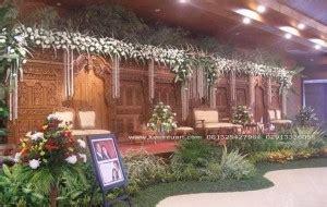sketsel dekorasi rias pengantin jawa kayu jati ukiran