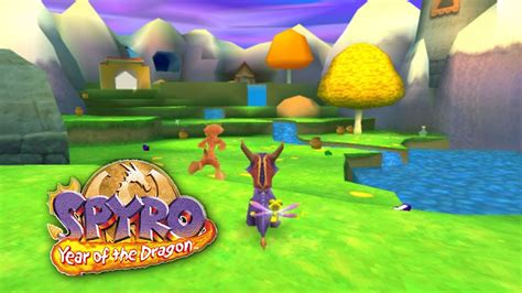 spyro  year   dragon part  intro  sunrise