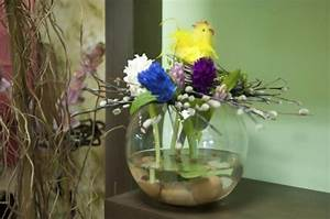 DIY easter table decorations - Original flower centerpieces