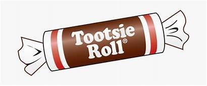 Roll Tootsie Clipart Midgie Clipartkey