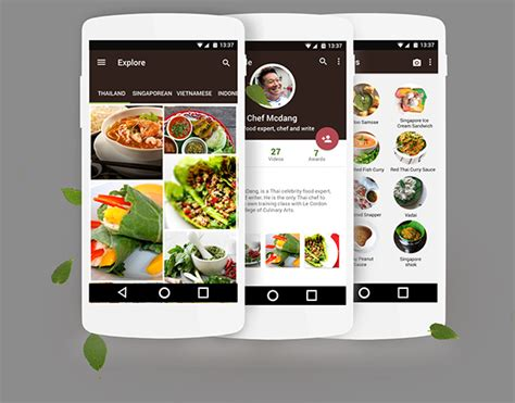 South East Asian Food App On Behance