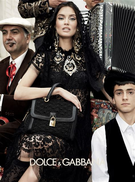 dolce und gabbana ohrringe dolce gabbana fall 2012 ad caign style canadian fashion and lifestyle news