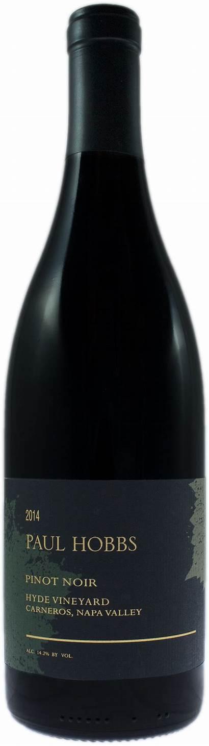 Pinot Noir Paul Winery Napa Hobbs Hyde
