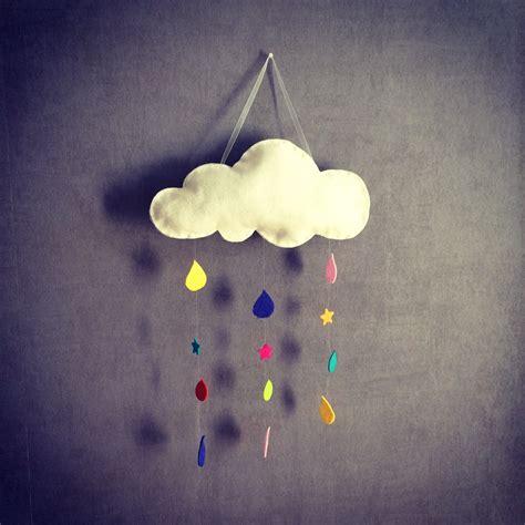 tissu pour chambre bébé do it yourself tuto une suspension nuage haute en