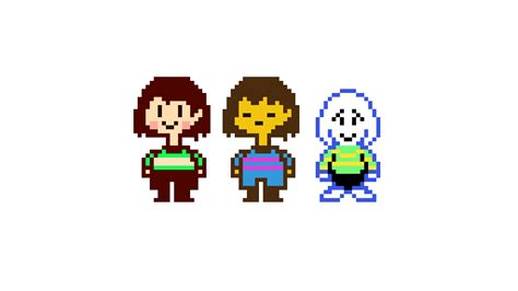 Frisk Chara And Sprite | Mungfali