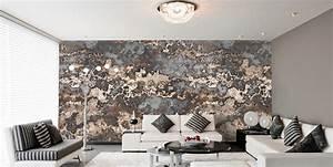 Wohnzimmer Bild Grau : wohnzimmer ideen wandgestaltung schwarz ~ Michelbontemps.com Haus und Dekorationen