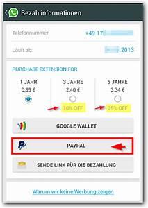 Vodafone Rechnung Mit Paypal Bezahlen : android whatsapp mit paypal bezahlen wenn keine kreditkarte vorhanden techfrage ~ Themetempest.com Abrechnung