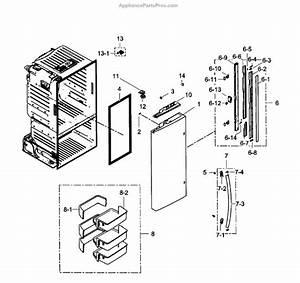 Parts For Samsung Rf260beaesr  Aa