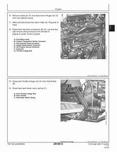 John Deere 5105 Tractor Service Repair Manual