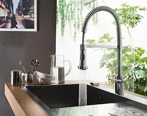 Il rubinetto cucina con doccetta rubinetti per cucina for Miscelatori per cucina