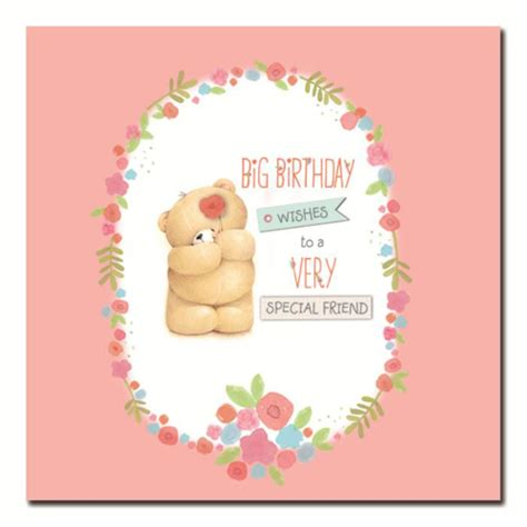special friend birthday wishes  friends card