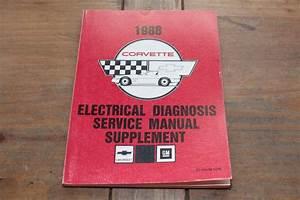 Corvette Chevrolet Electrical Diag St36488edm 1988 Chevy