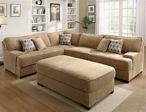 corduroy sectional sleeper section no chaise allows With sectional sofa in basement