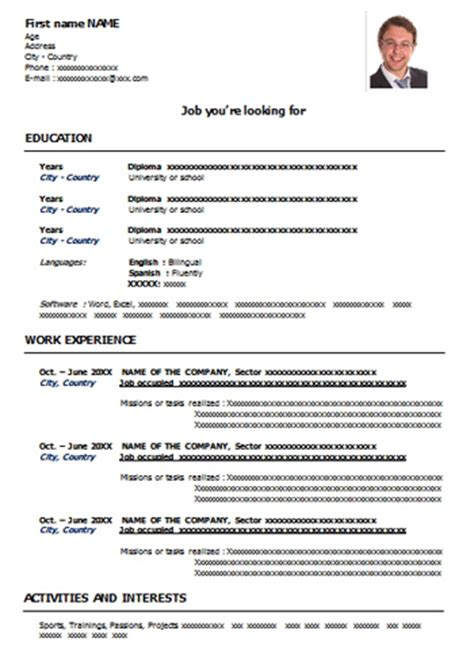 Executive Classic Resume Sle by Classic Resume Template Word 36 Images Executive