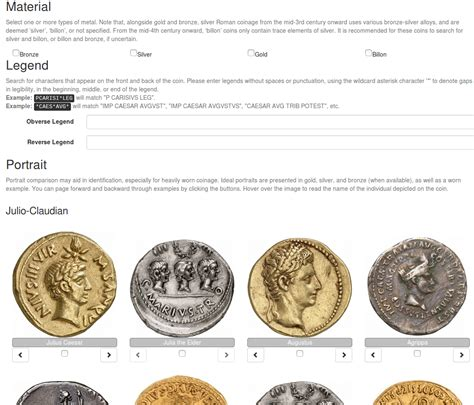 Identify Ancient Roman Coins