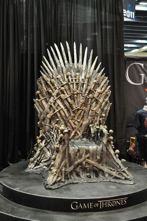 image wondercon iron thronejpg game  thrones wiki