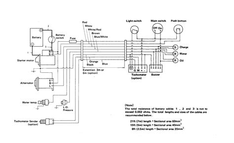 Marine Tachometer Wiring Diagram by Yanmar Tachometer Wiring Question Page 1 Iboats Boating