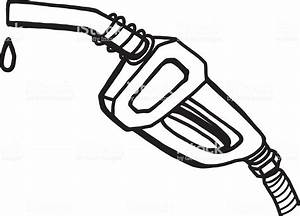 petrol pump stock vector art more images of black and With fuel pump drawing