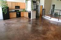 how to stain concrete floors How to Stain an Interior Concrete Floor in 2019   Fixer Upper : Ideas for renovating our ...
