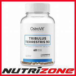 Ostrovit Tribulus Terrestris 90 1000mg Strong Testosterone Booster 60caps 5903246222616