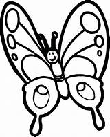 Butterfly Coloring Template Pages Cartoon Clipart Drawing Cute Butterflies Mandala Transparent Getdrawings Clipartmag Webstockreview sketch template
