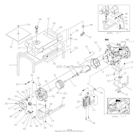 briggs and stratton power products 1188 0 580 327130 3 500 watt craftsman parts diagram for