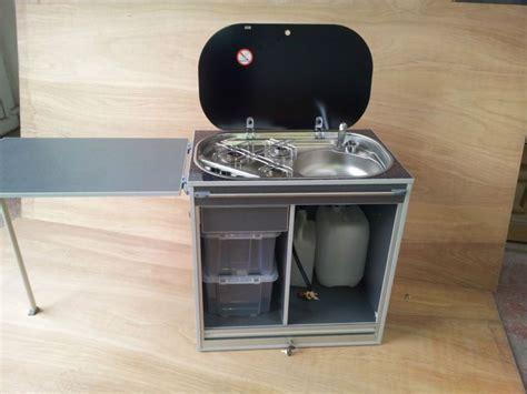 removable cooker pod  camper van ideal  vw   urban kitchen campervan interior