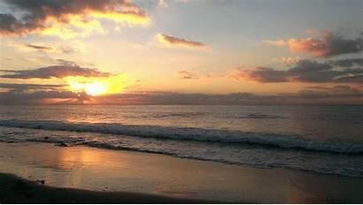 Sunrise Malibu Surf Fishing Sea Slow Log