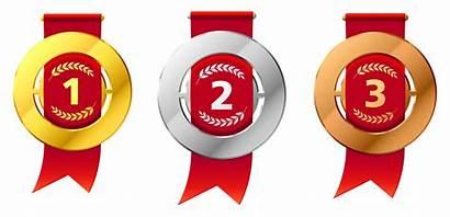 Medal Medals Transparent Winner Copper Clipart Bronze