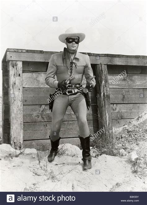the lone ranger us tv series which ran from 1949 to 1957 with stock photo royalty free image