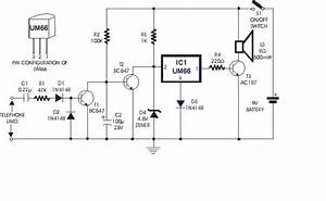 how to build soft musical telephone ringer circuit diagram With hv440 high voltage ring generator schematic