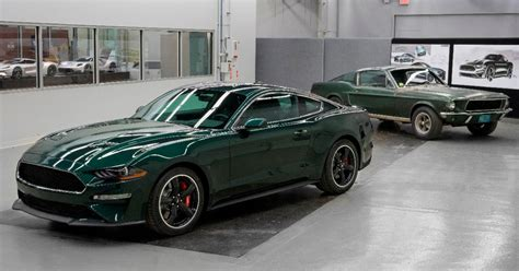 2019 Ford Mustang Bullitt Fetches 0,000 At Charity Auction