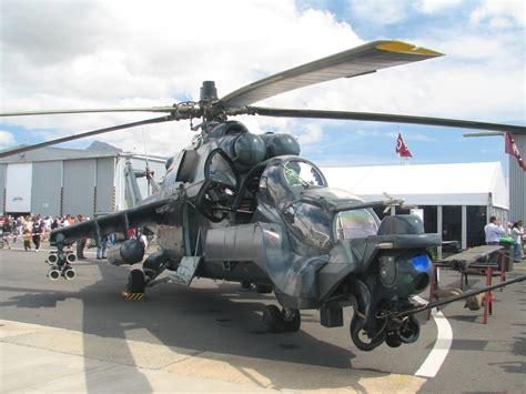 [軍火百科]飛天鱷魚:mi-24「雌鹿」戰鬥直升機